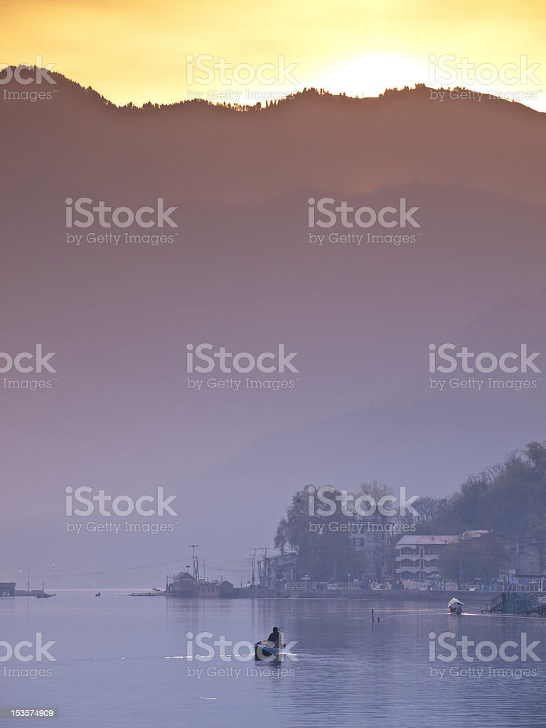 Dal lake royalty-free stock photo