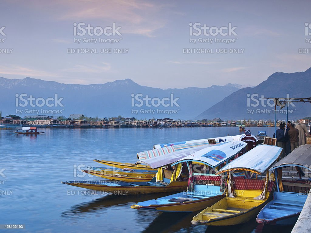 Dal lake royalty-free stock photo