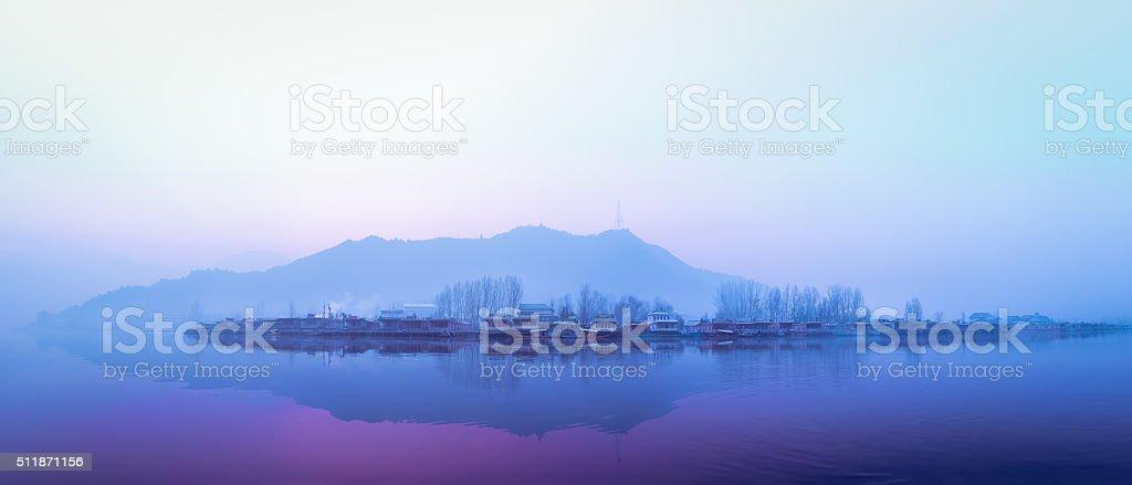 Dal Lake stock photo