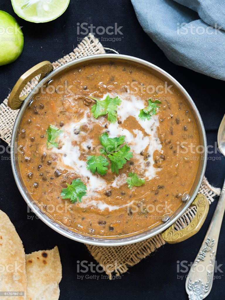 Dal makhani stock photo