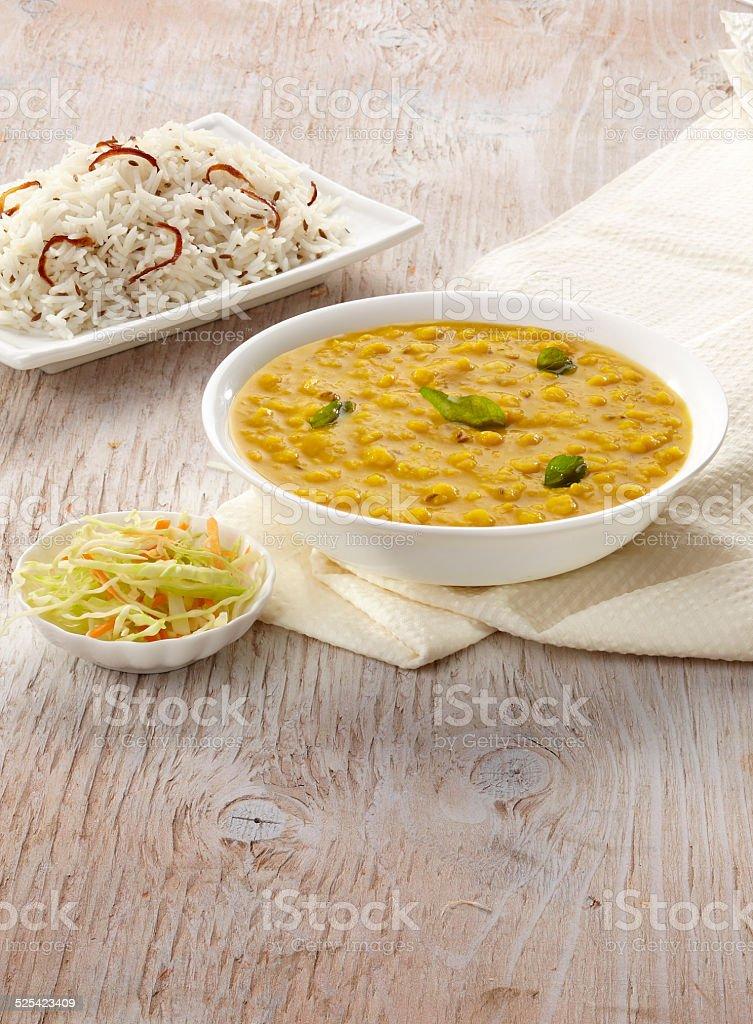 Dal Tadka,  Indian food, India stock photo
