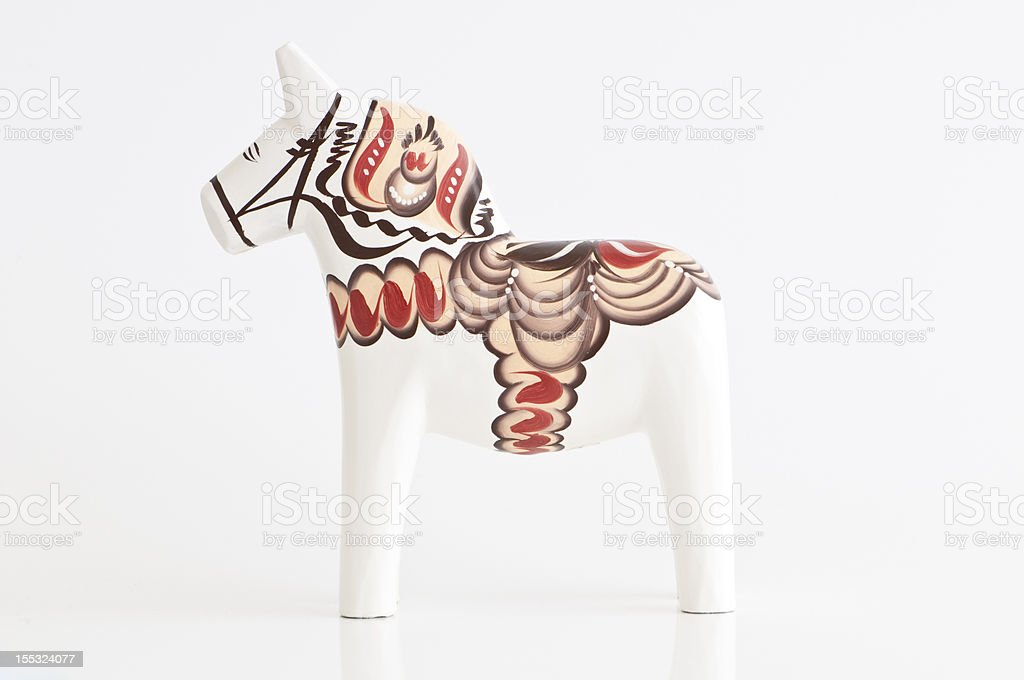 Dalahorse stock photo