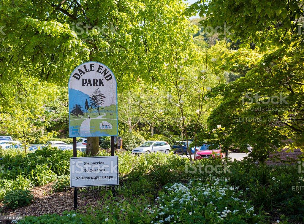 Dale End Park stock photo
