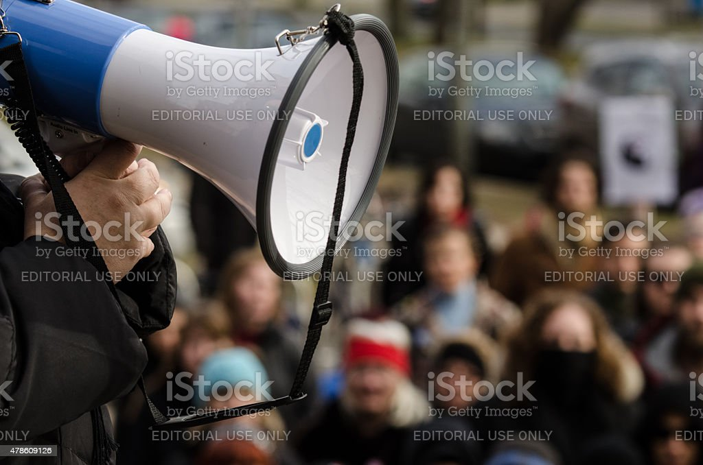 Dalhousie Dentistry Protest stock photo