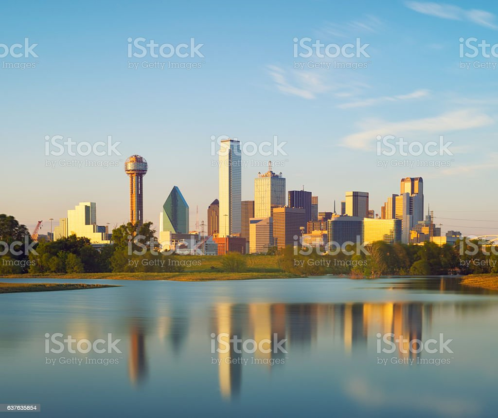 Dallas City, Texas, USA stock photo