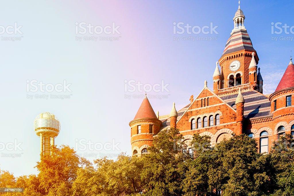 Dallas County Courthouse stock photo