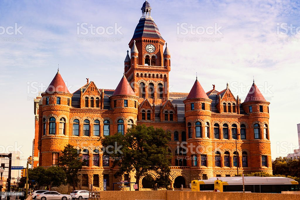 Dallas County Courthouse stock photo