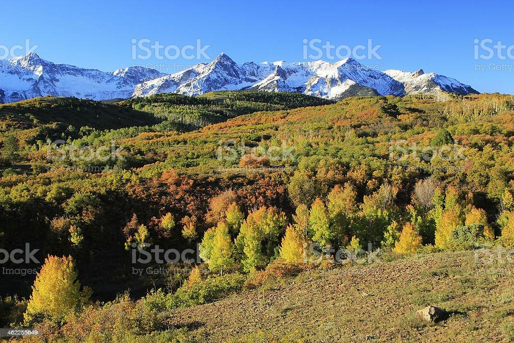 Dallas Divide, Uncompahgre National Forest, Colorado stock photo