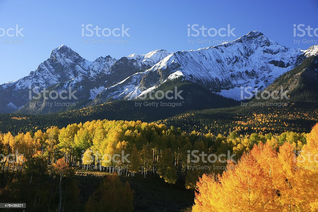 Dallas Divide, Uncompahgre National Forest, Colorado royalty-free stock photo