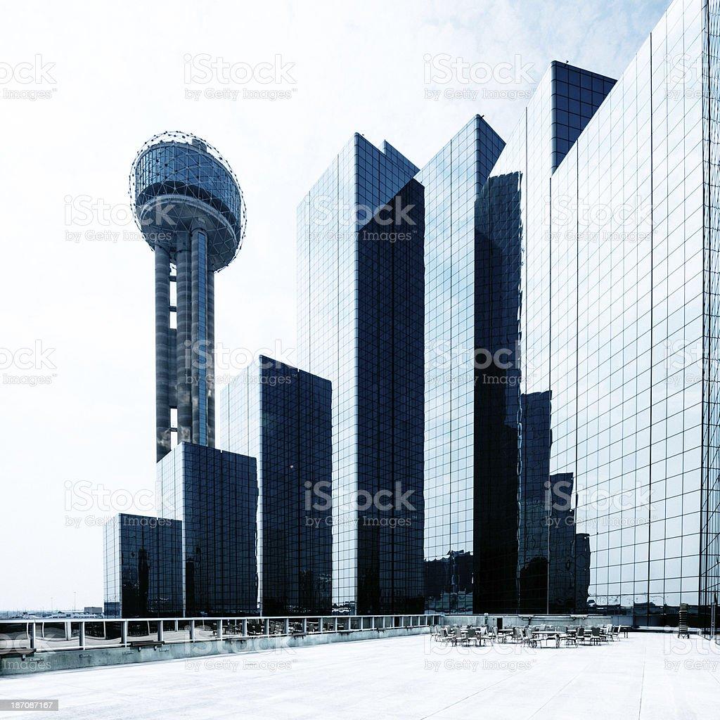 Dallas Skyline royalty-free stock photo