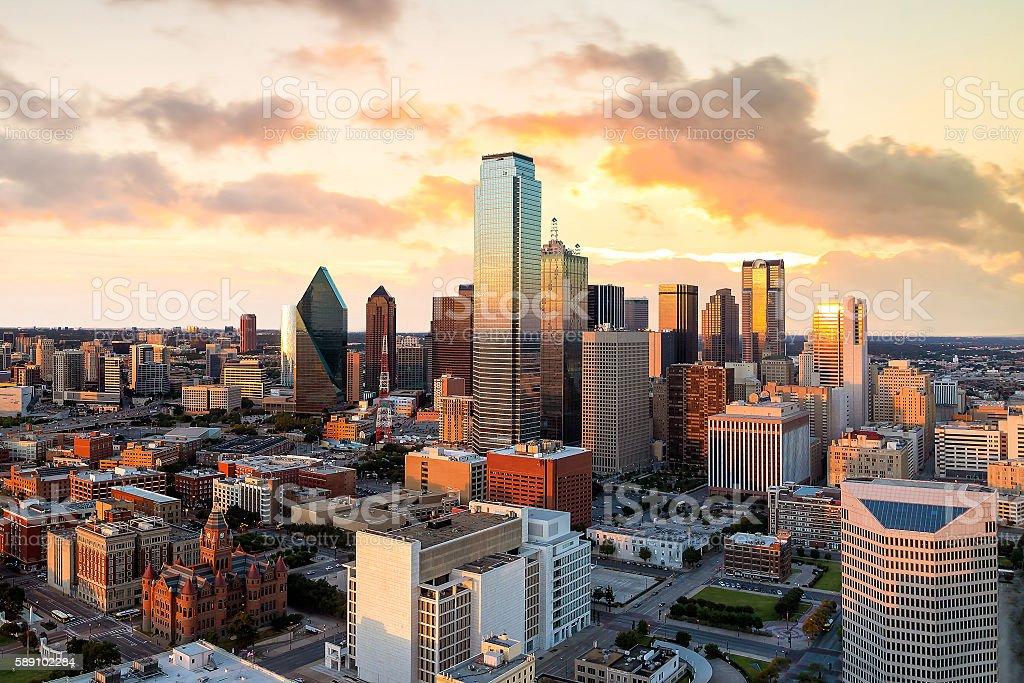 Dallas, Texas cityscape stock photo