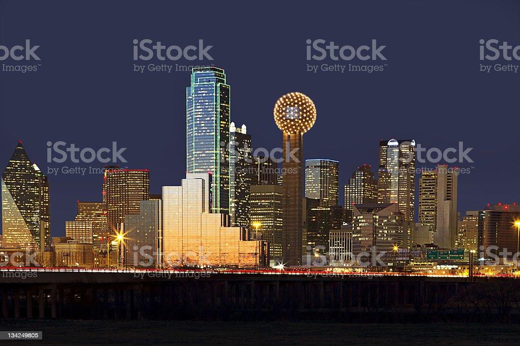 Dallas, Texas Skyline stock photo