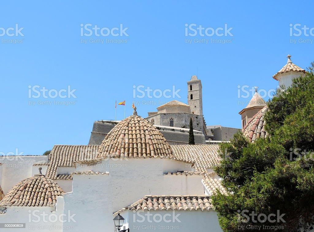 Dalt Vila royalty-free stock photo