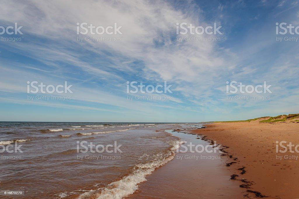 Dalvay Beach stock photo