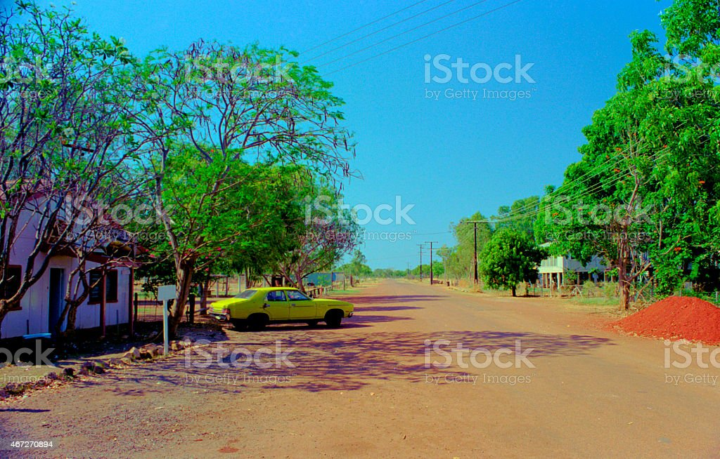 Daly Waters, In Australia's Northern Territory stock photo