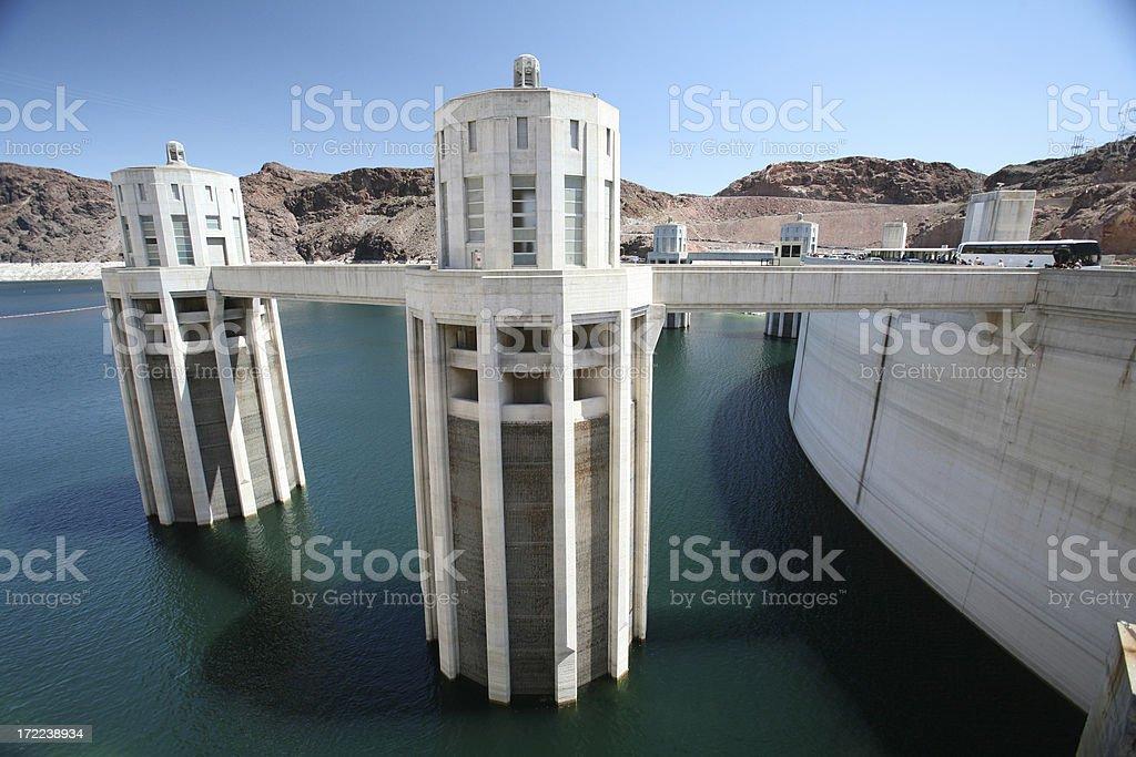 Dam Intake XXLarge stock photo