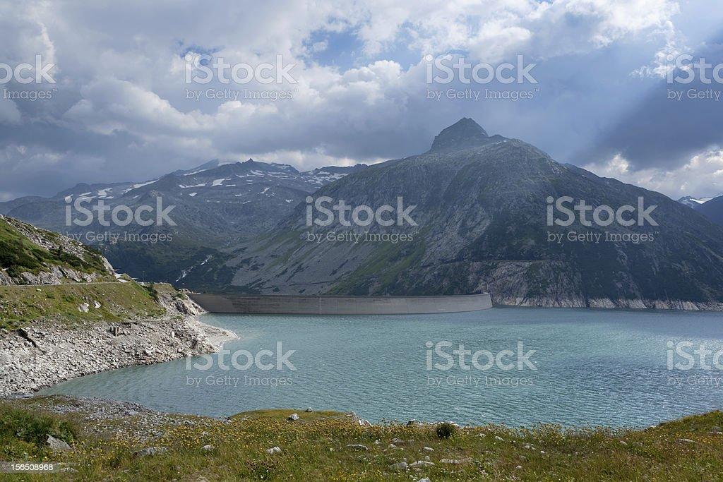 Dam K?lnbrein; Austria royalty-free stock photo