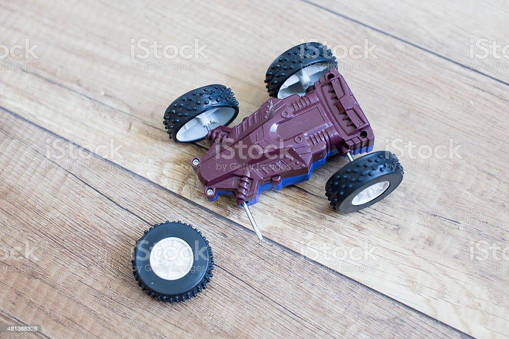 damage car racing stock photo