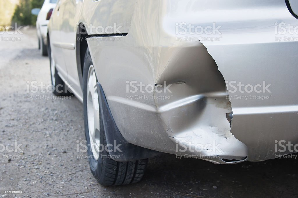 Damage royalty-free stock photo