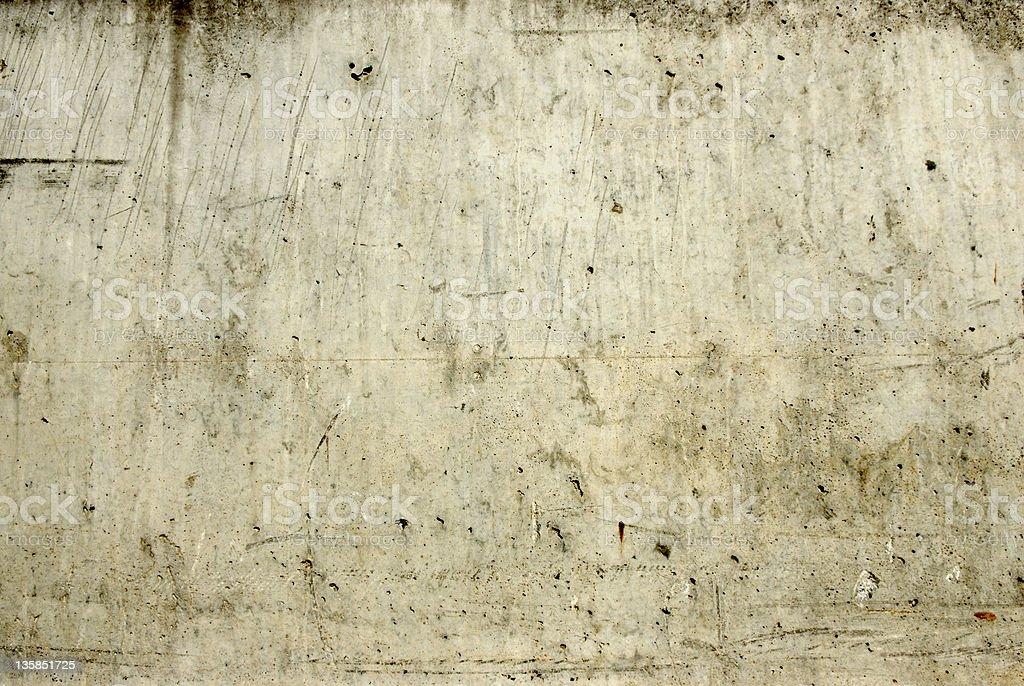 Damaged Concrete royalty-free stock photo