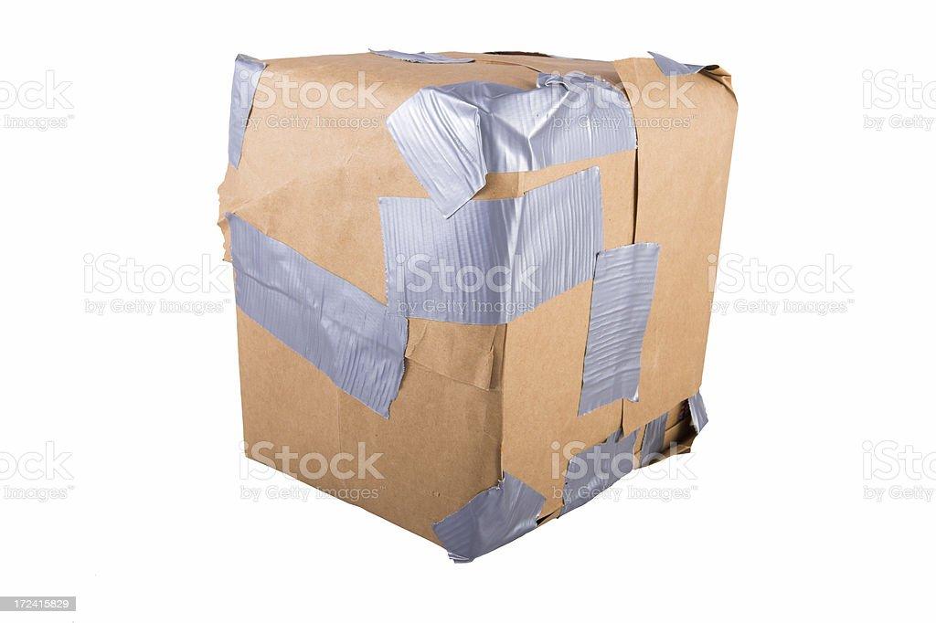 Damaged Package stock photo