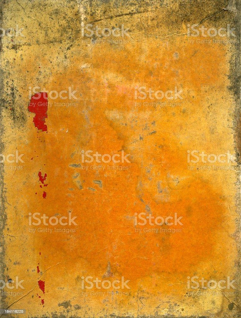 Damaged paper background (XXXL) royalty-free stock photo