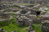 damaged ruin remains