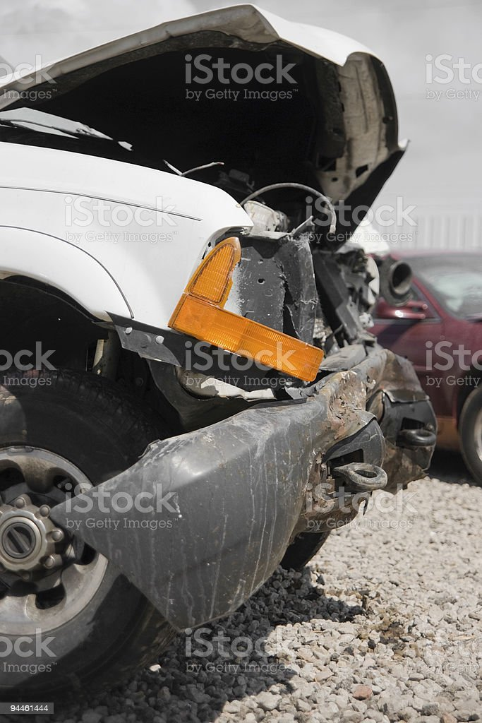 Damaged Truck royalty-free stock photo
