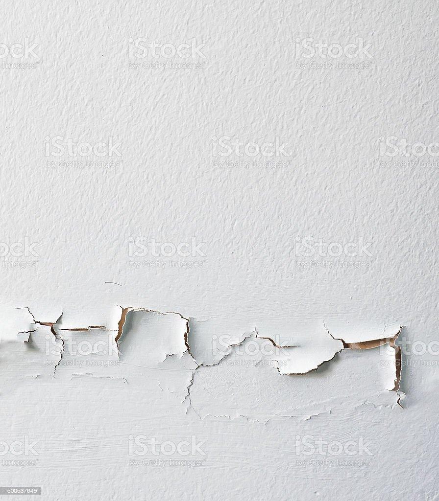 Damaged Wall Peeled stock photo
