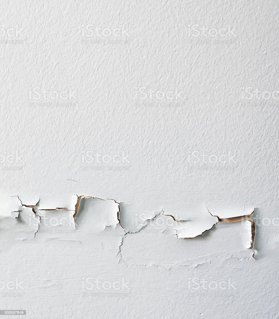 Damaged Wall Peeled stock photo