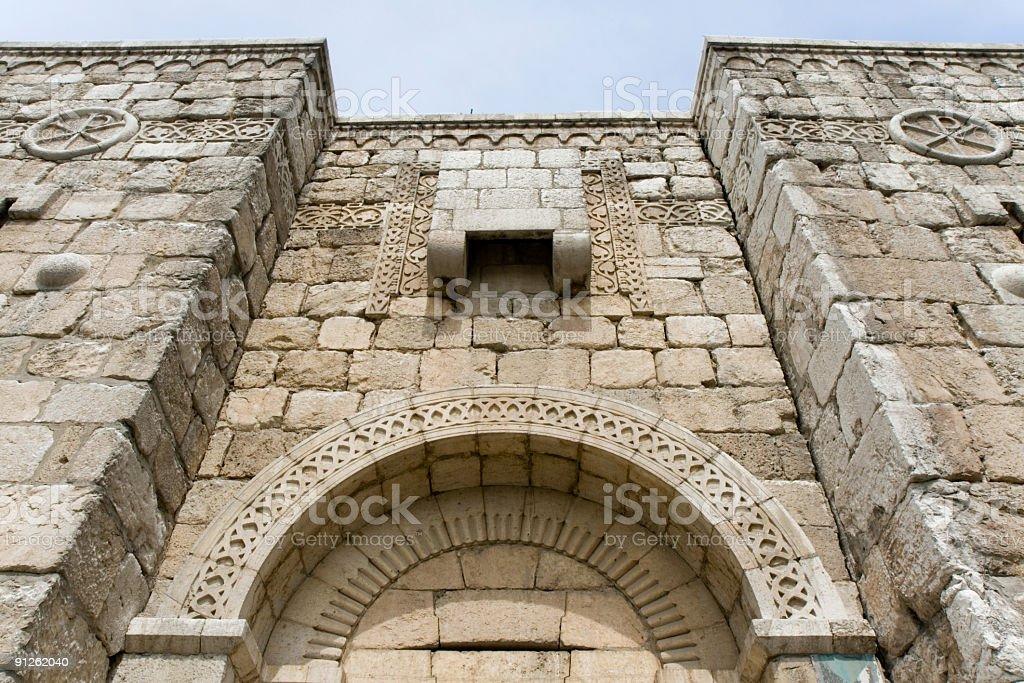 Damascus - Bab Kissan stock photo