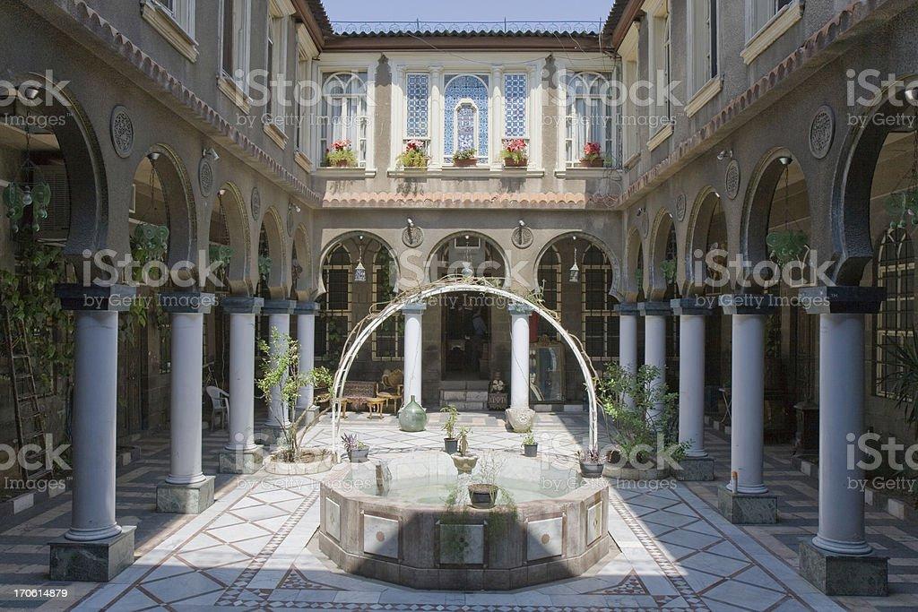 Damascus - Palace stock photo