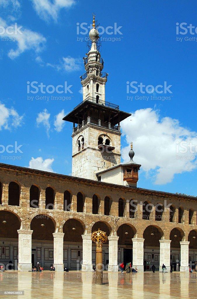 Damascus, Syria: Omayyad Mosque stock photo