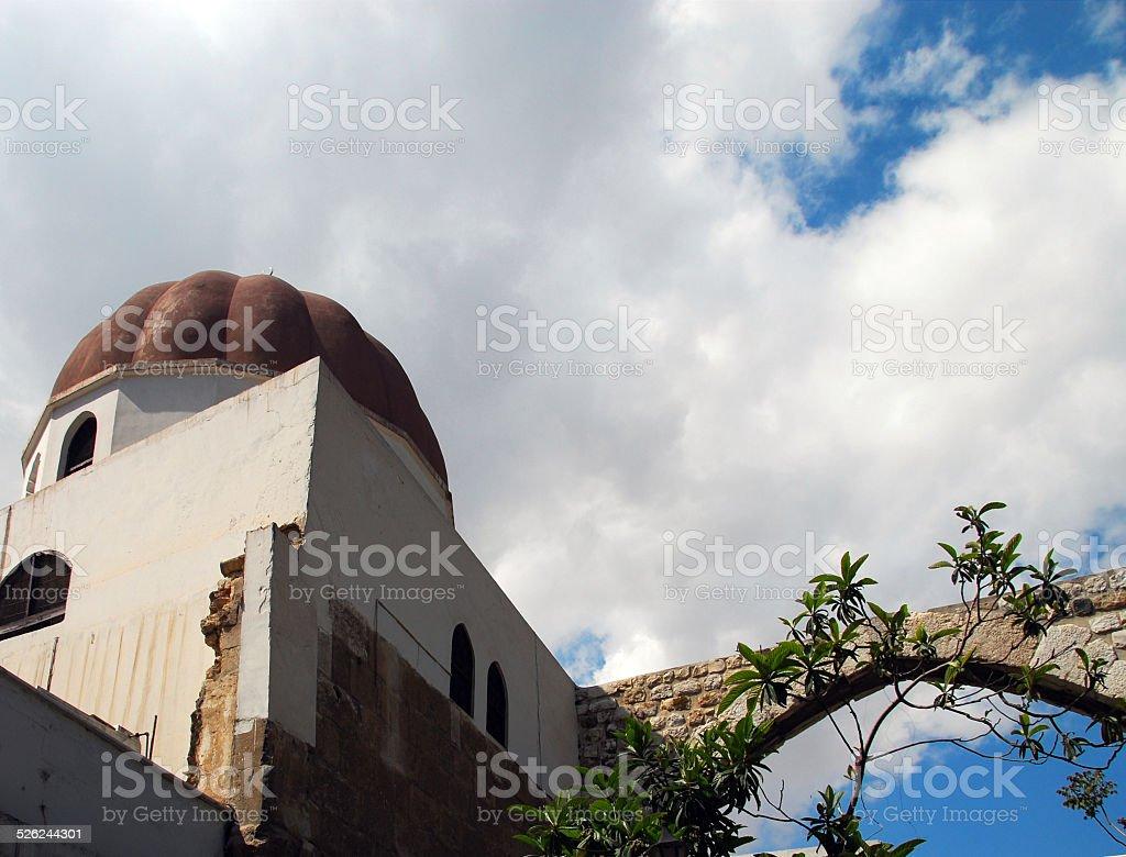 Damascus, Syria: Tomb of Saladin stock photo
