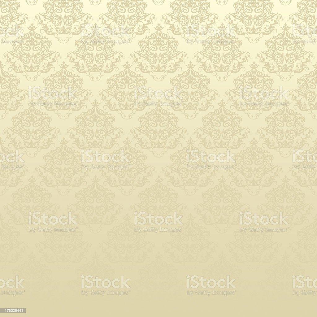 damask floral pattern wallpaper royalty-free stock photo