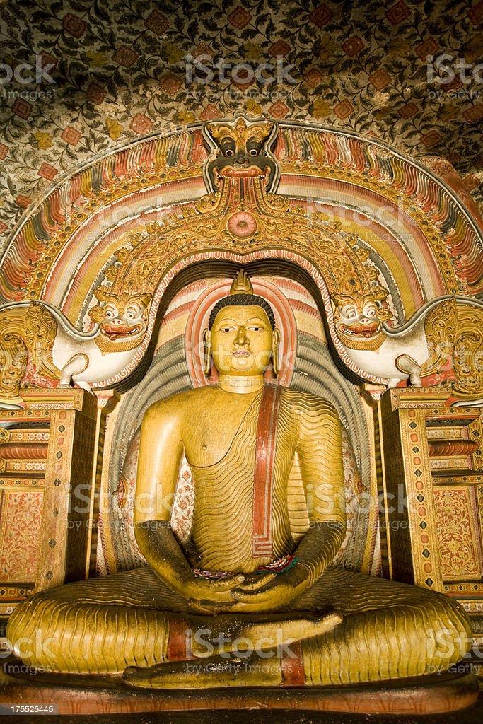 dambulla cave temple sri lanka royalty-free stock photo
