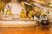Dambulla Cave Temple Tourists