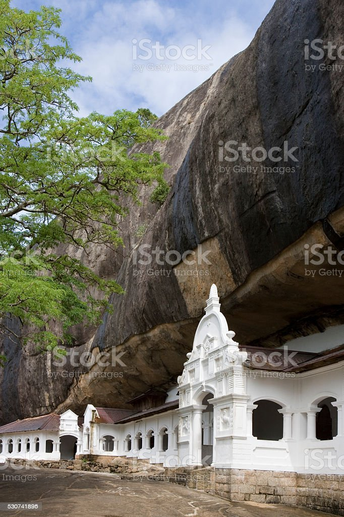 Dambulla Cave Temples - Sri Lanka stock photo