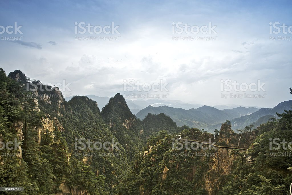 Daming Moutain royalty-free stock photo
