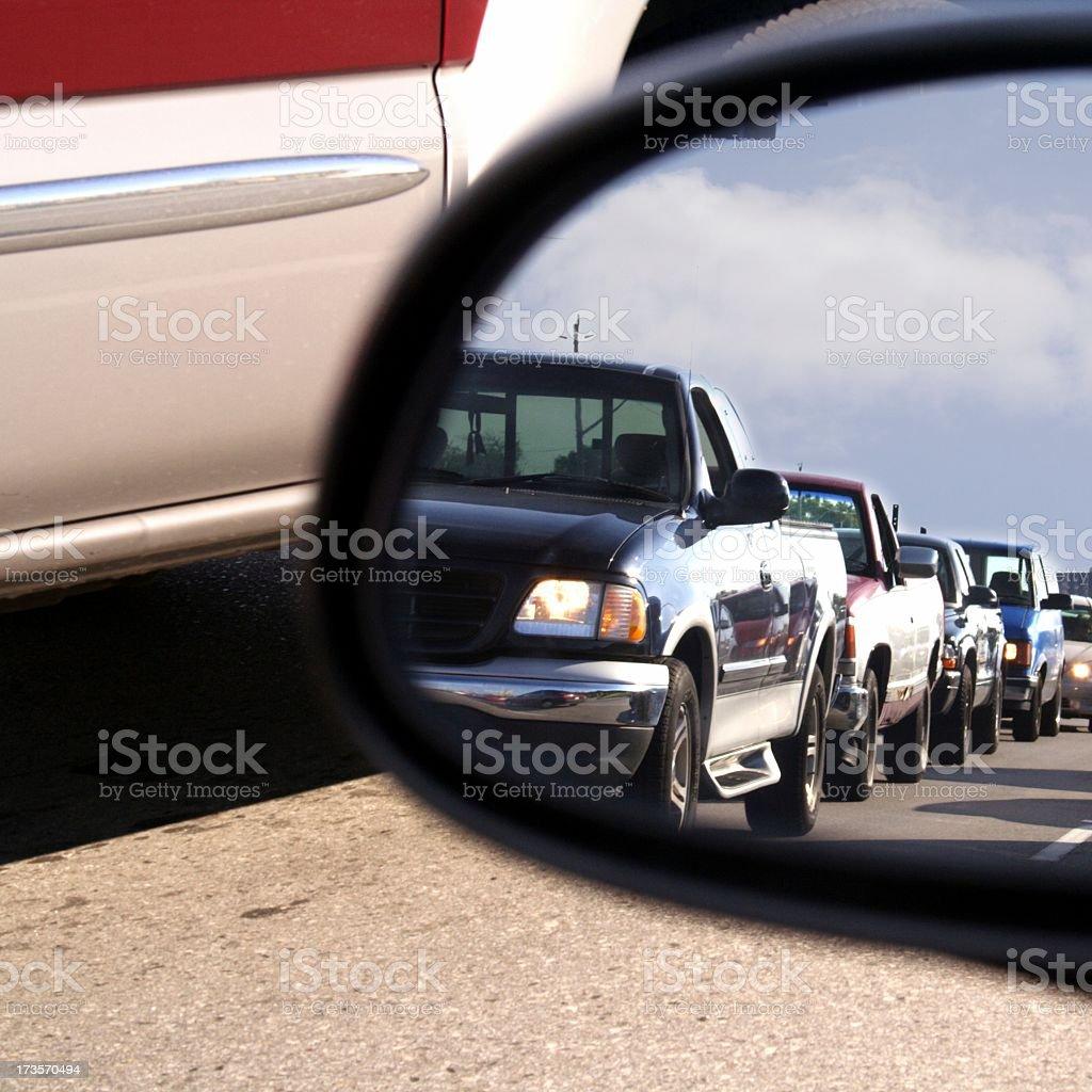 Damn This Traffic Jam royalty-free stock photo