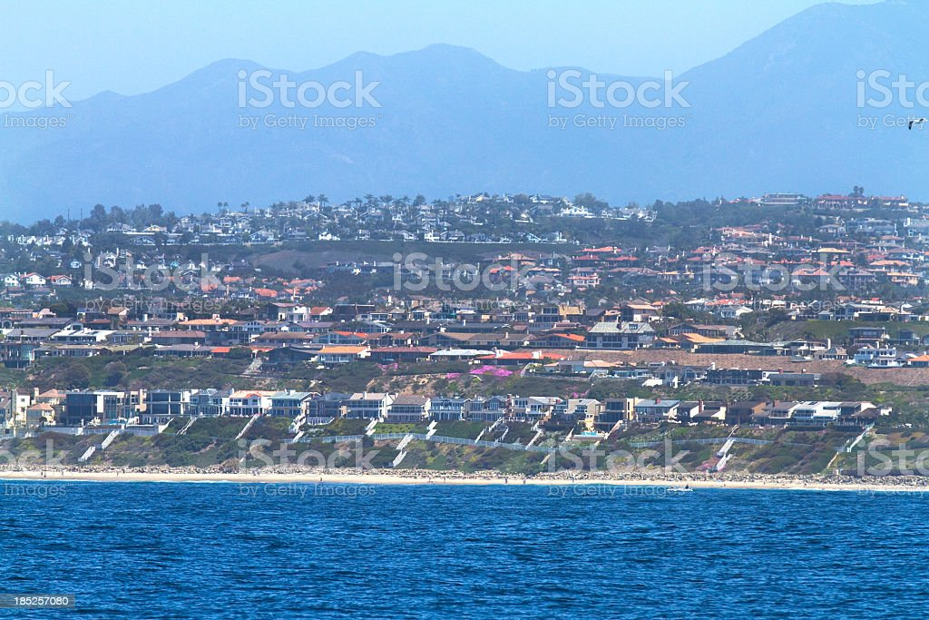 Dana Point California stock photo