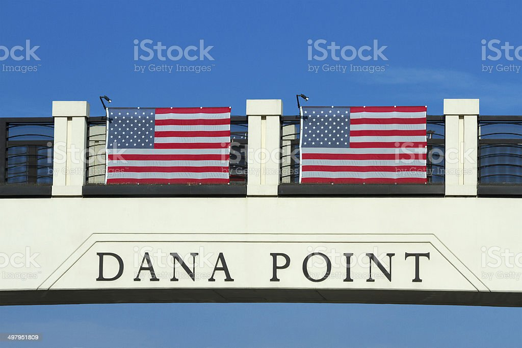 Dana Point California stock photo