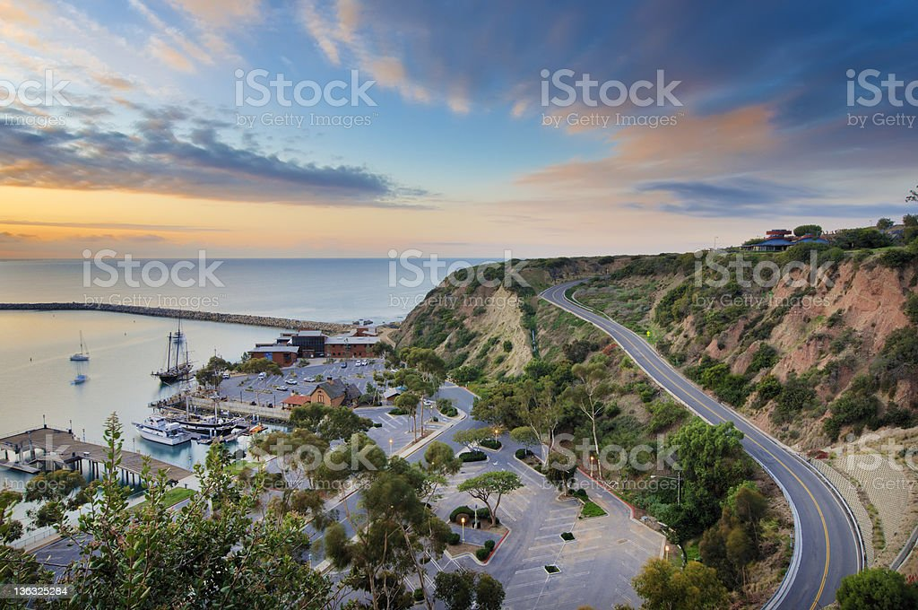 Dana Point Harbor stock photo