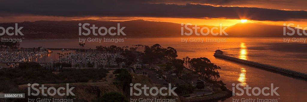 Dana Point Sunrise stock photo