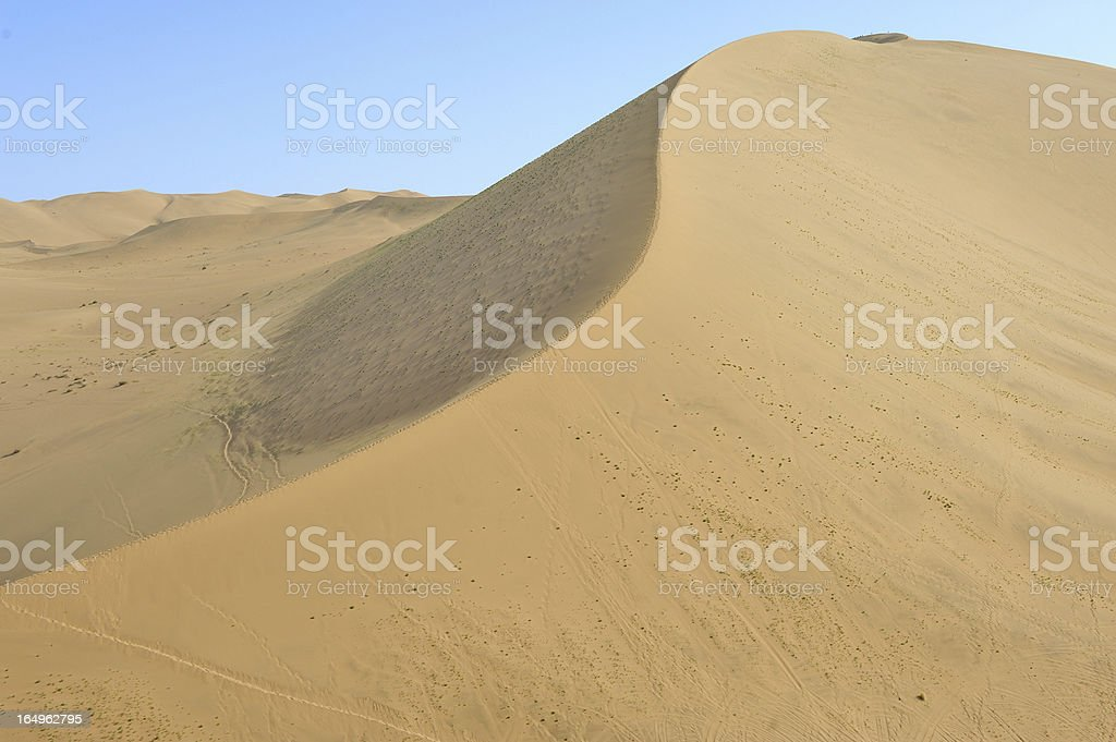 Danba Jilin Desert royalty-free stock photo