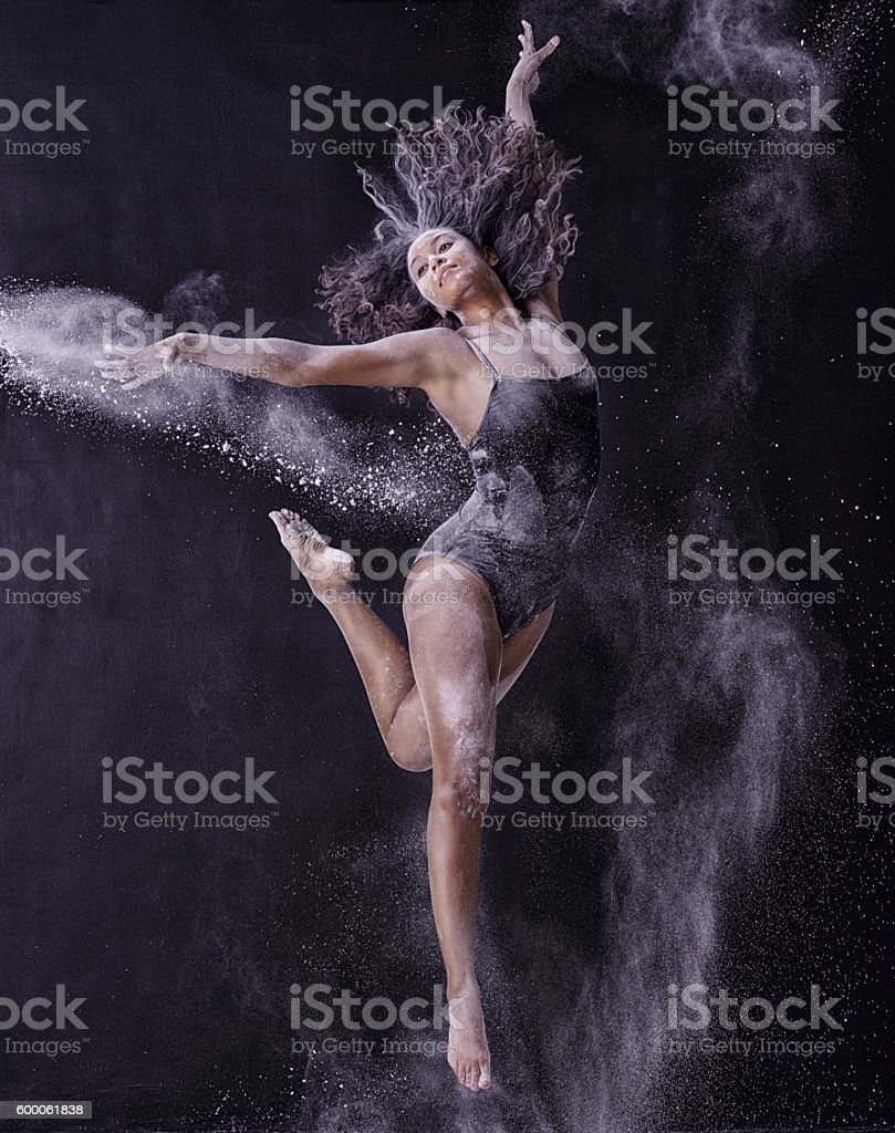 Dance can be an expression of how you feel stock photo