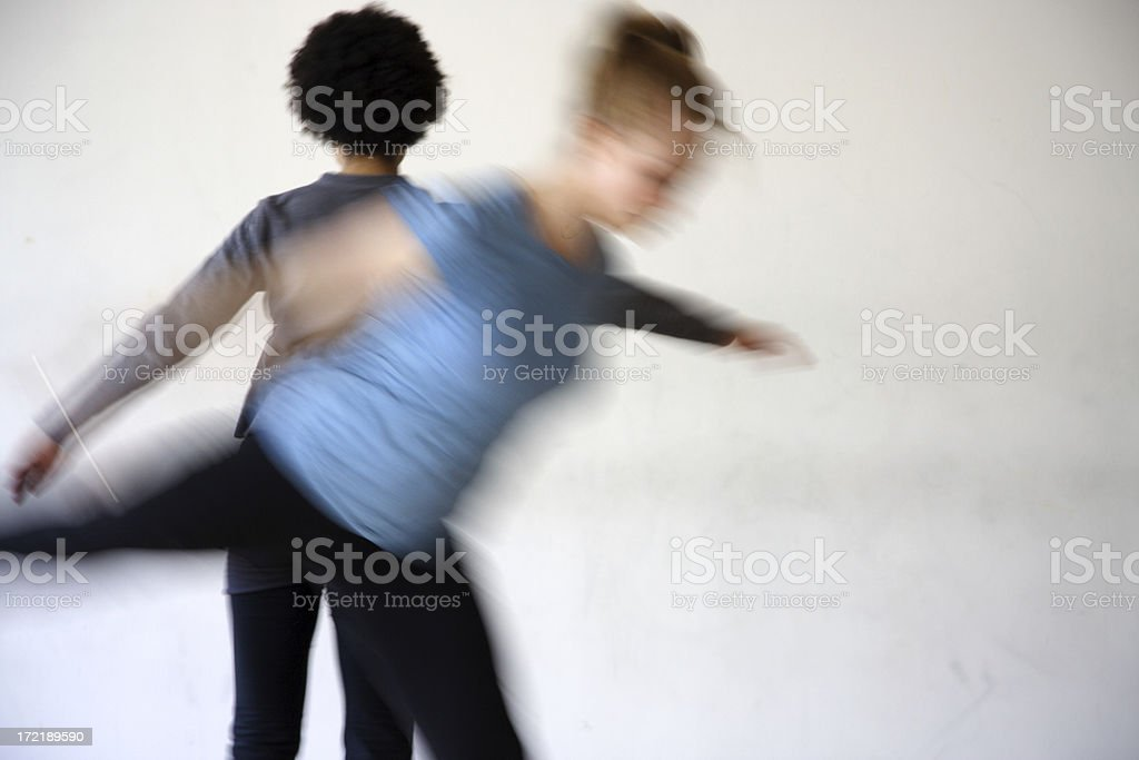 dance class royalty-free stock photo