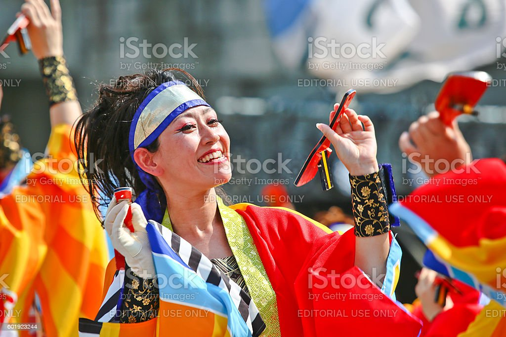 Dance Entertainment Festival HamaKoi 2016 stock photo
