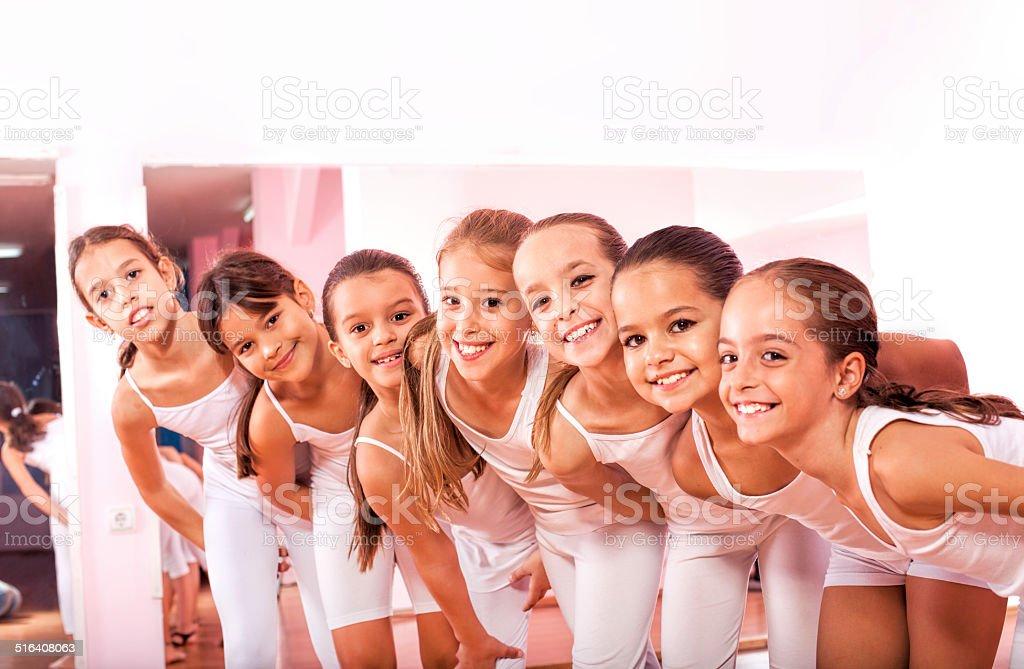 Dance Fitness Class stock photo