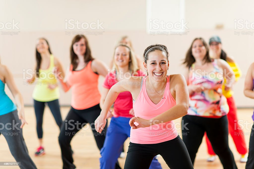 Dance Fitness stock photo